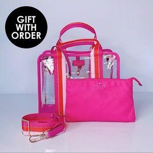 ⭕️ KATE SPADE Multi Pink Tote Satchel Bag